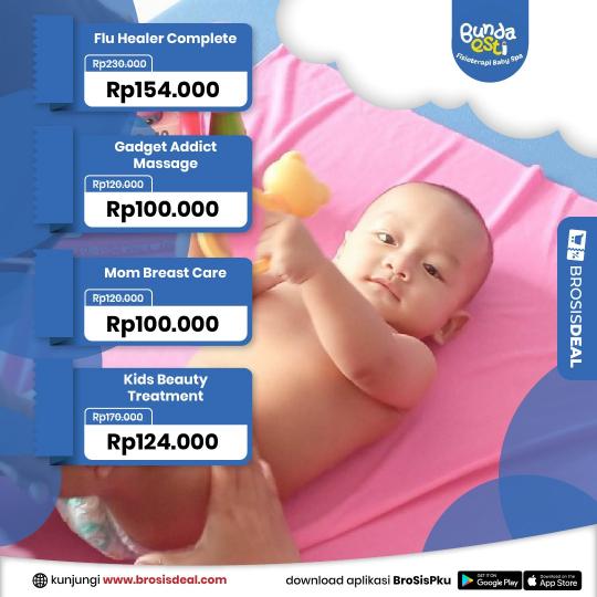 Bunda Esti Baby Spa Deal