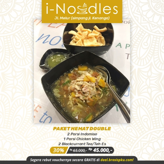 I Noodles Hemat Double Deal