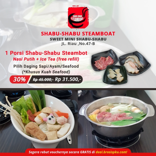 Shabu-shabu Steamboat Sweet Mini Deal