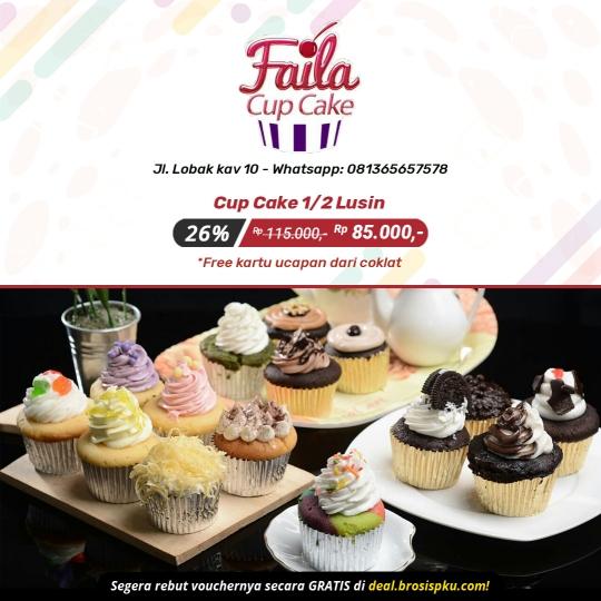 Faila Cupcakes Deal