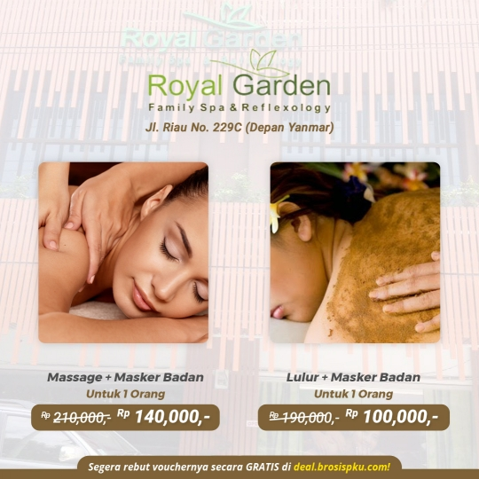 Royal Garden Family Spa Deal