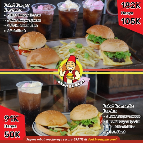 Abah Burger New Deal