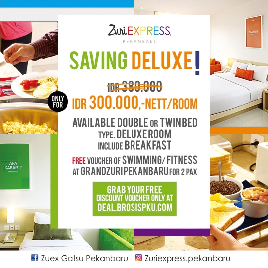 Zuri Express Hotel Saving Deluxe Deal