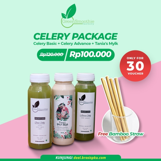 Greensmoothie Factory Celery Package Deal (limited Deal)