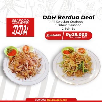 Seafood Ddh Berdua Deal
