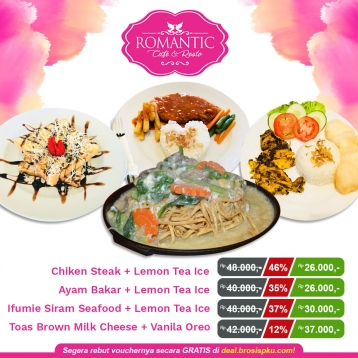 Romantic Cafe And Resto Deal