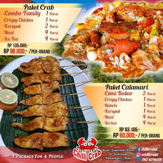 Chilli Crab Family Deal
