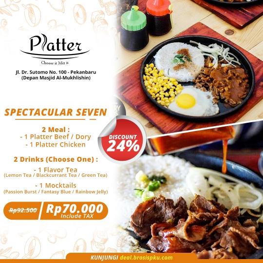 Platter Spectacular Seven Deal