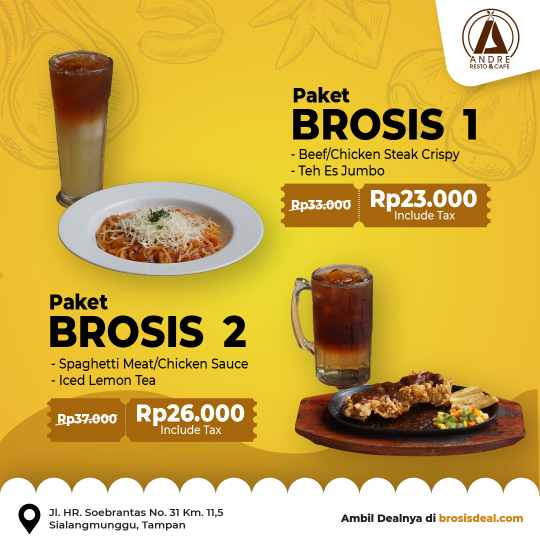 Andre Resto And Cafe Deal