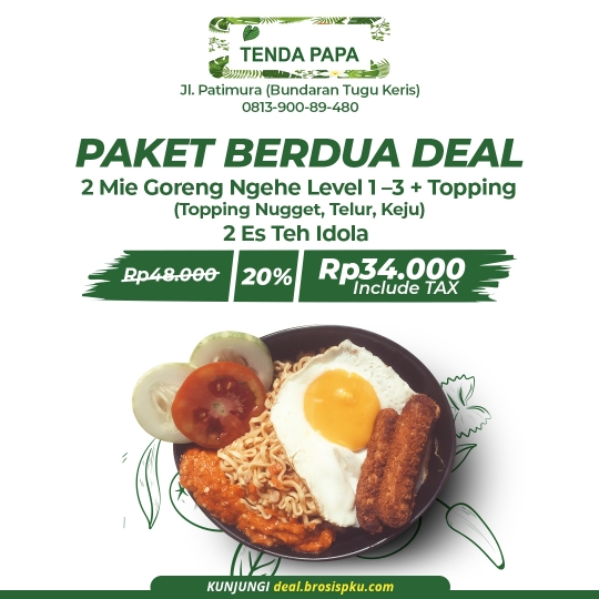 Tenda Papa Berdua Deal