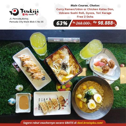 Tsukiji Sushi Fantastic Deal