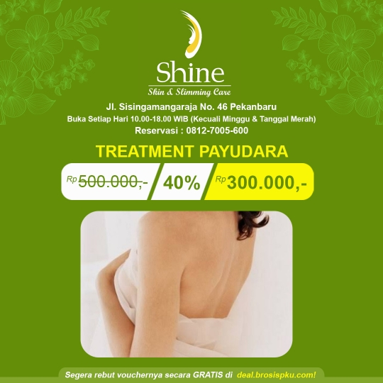 Shine Clinic Treatment Payudara Deal