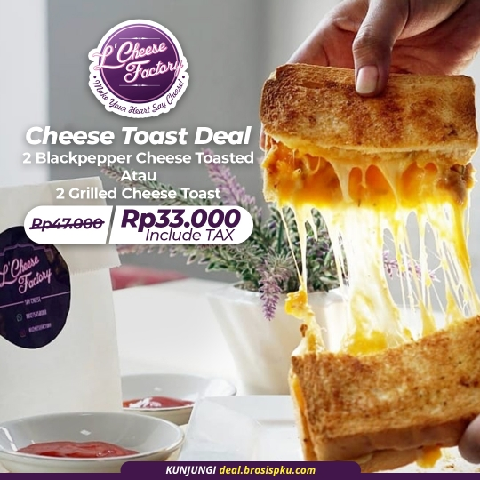 Lcheese Factory Cheese Toast Deal