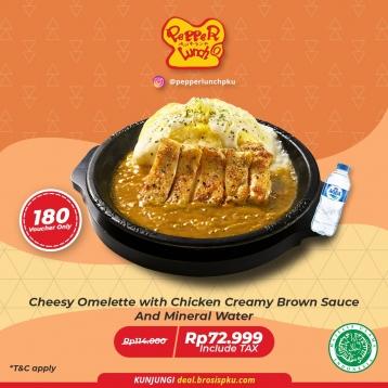 Pepper Lunch Cheesy Omelette Deal