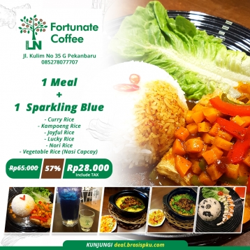 Fortunate Coffee Personal Deal