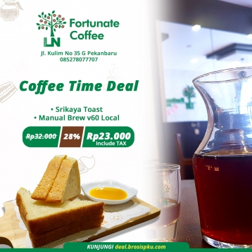 Fortunate Coffee Time Deal