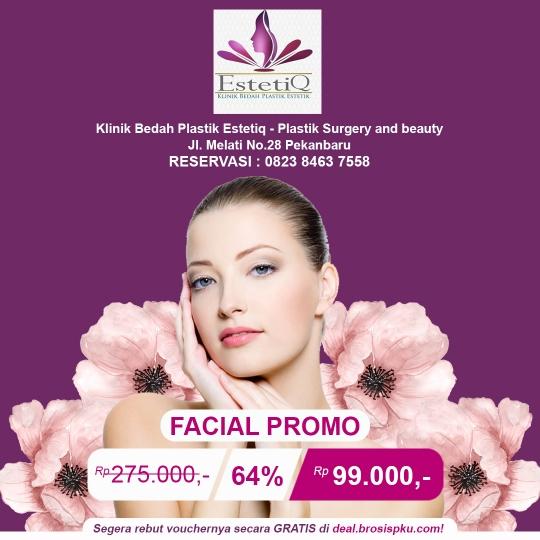 Klinik Estetiq Facial Promo Deal