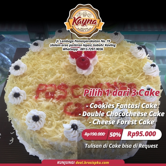 Kayna Cheese Forest Cake Deal