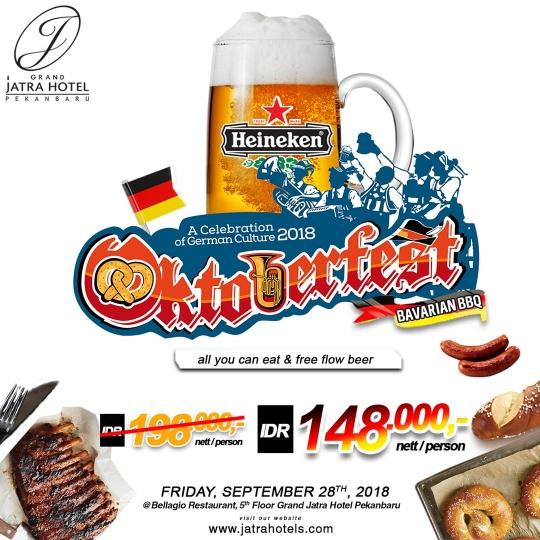 Jatra Oktoberfest Bavarian Bbq Deal