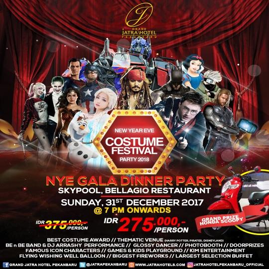 Jatra Nye Gala Dinner Party 2018 Deal