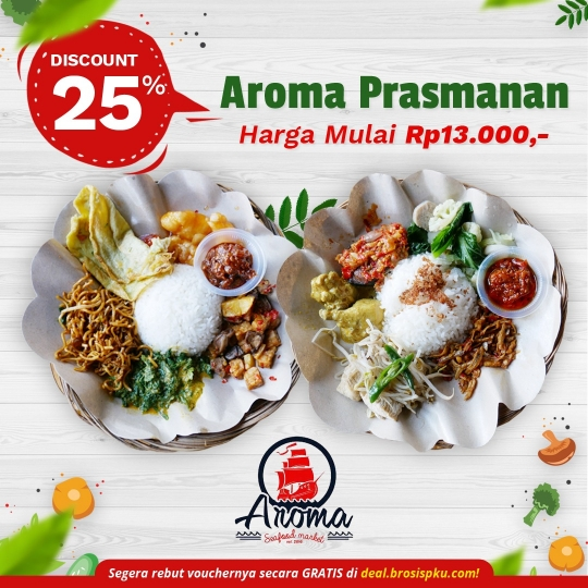 Aroma Seafood Prasmanan Deal