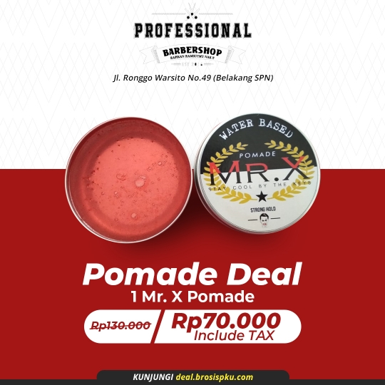 Professional Barber Pomade Deal