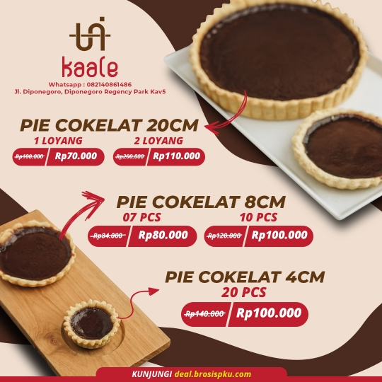 Unikaale Pie Cokelat Deal