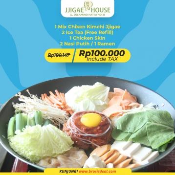 Jjigae House Mix Chicken Kimchi Deal