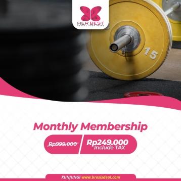 Her Best Monthly Membership Deal