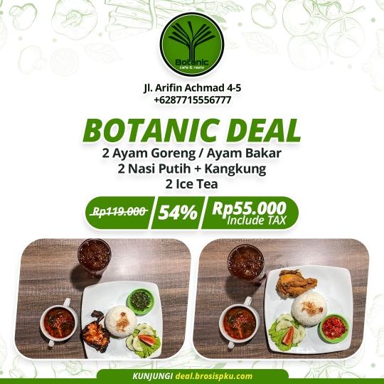 Botanic Cafe And Resto Berdua Deal