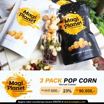 Magi Planet 3 Popcorn Deal