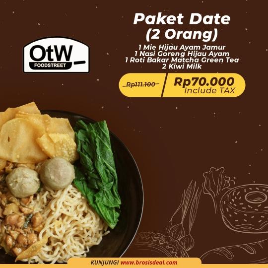 Otw Foodstreet Paket Date Deal