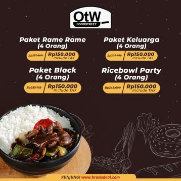 Otw Foodstreet Deal