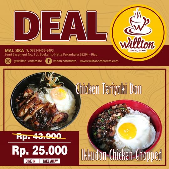 Willton Cafe N Resto Ska Deal