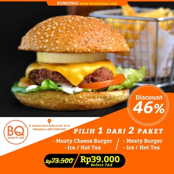 Bread Boutique Meaty Burger Deal