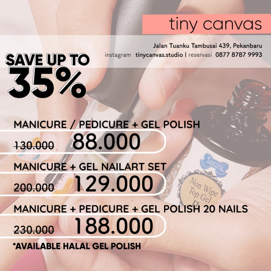 Tiny Canvas Deal