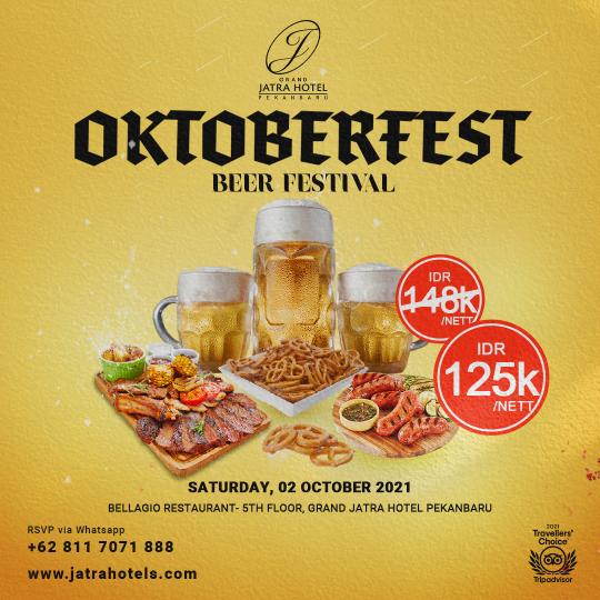 Jatra Oktoberfest German Buffet Deal