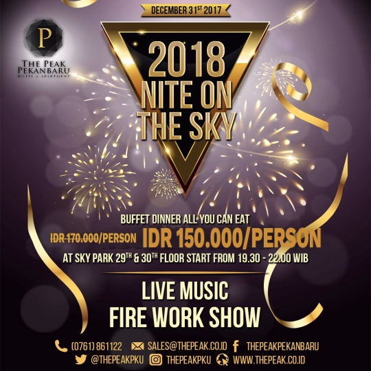 Sky Park 2018 Nite On The Sky Deal