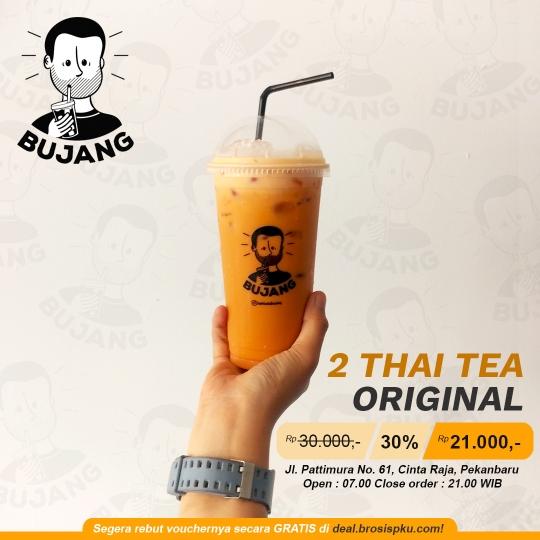 Kopi Susu Bujang Thai Tea Deal