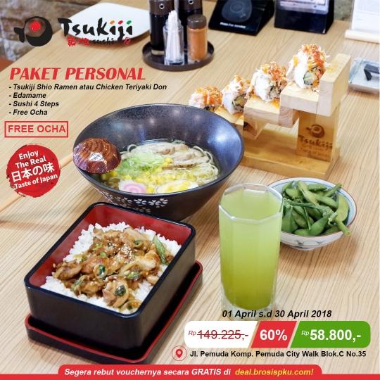 Tsukiji Sushi Personal Deal
