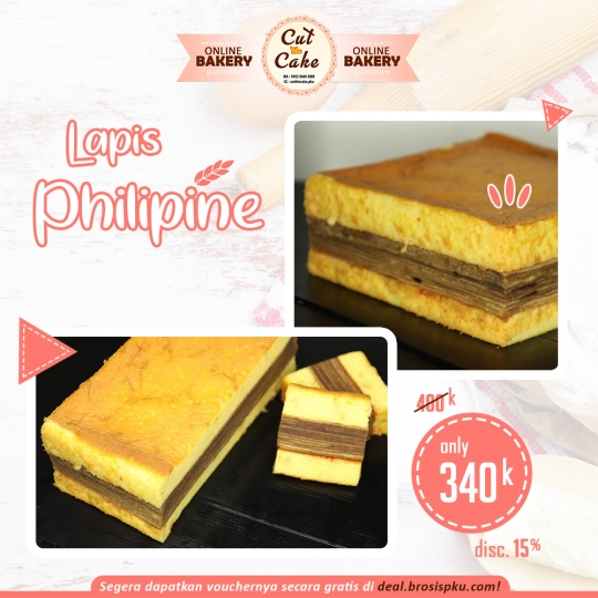 Cut The Cake Lapis Philipine Deal