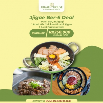 Jjigae House Berenam Deal