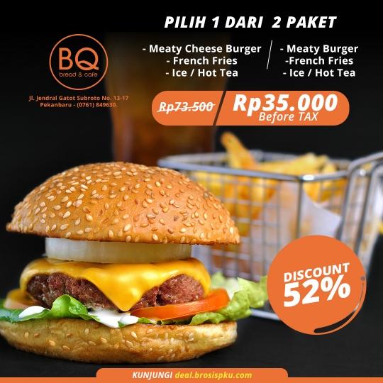 Bread Boutique Meaty Burger Deal
