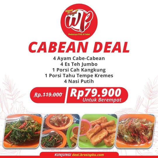 Warunk Penyet Cabean Deal