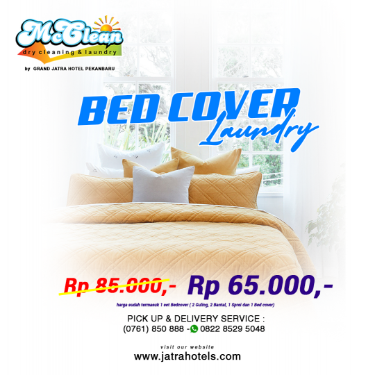 Jatra Mc Clean Bed Cover Laundry Deal