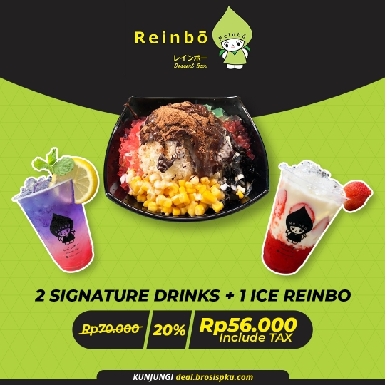 Reinbo Dessert Bar 2+1 Deal