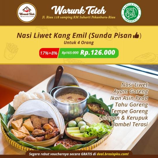 Warung Teteh Nasi Liwet Kang Emil Deal