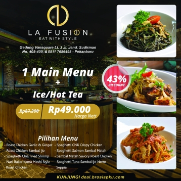 La Fusion Meal Deal