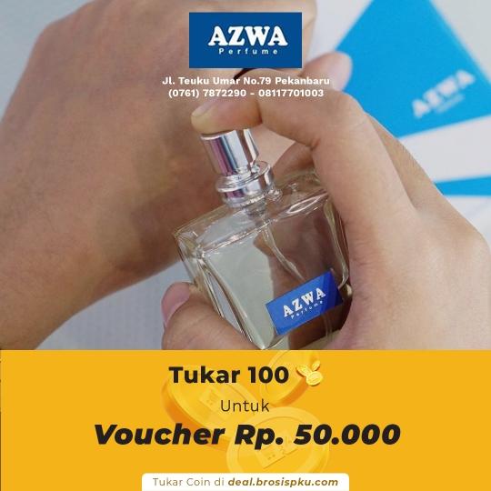 Azwa Perfume Voucher Rp 50.000 Untuk Produk Exclusive