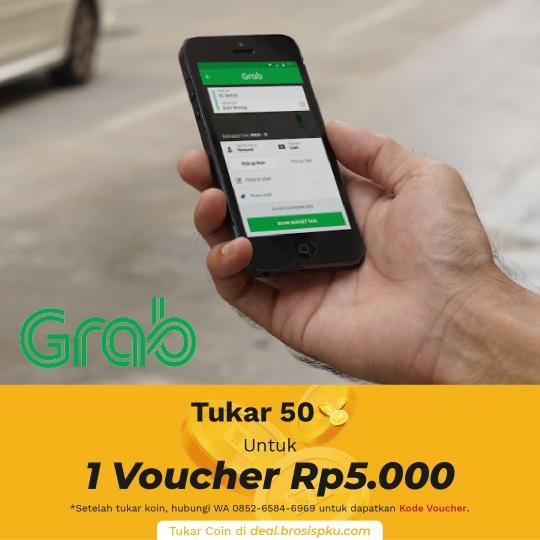 Grab Voucher Rp 5.000